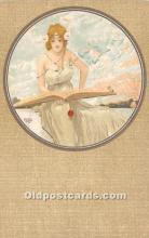 xrt096245 - Artist Raphael Kirchner Old Vintage Postcard