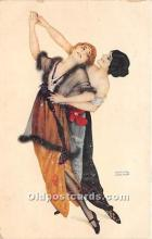 xrt096250 - Artist Raphael Kirchner Old Vintage Postcard