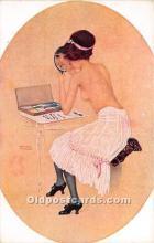 xrt096253 - Artist Raphael Kirchner Old Vintage Postcard