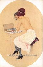 xrt096255 - Artist Raphael Kirchner Old Vintage Postcard