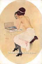 xrt096256 - Artist Raphael Kirchner Old Vintage Postcard