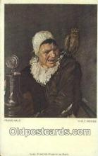 xrt100105 - Frans Hals - Hille Bobbe Art Postcards Post Cards Old Vintage Antique