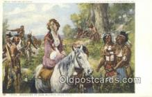 Painting by Yohn - Glenn Falls Insurance Co. Art Postcards Post Card