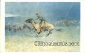 xrt100139 - Frederic Remington Art Postcards Post Cards Old Vintage Antique