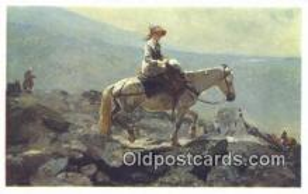xrt100145 - Winslow Homer - The Bridal Path Art Postcards Post Cards Old Vintage Antique