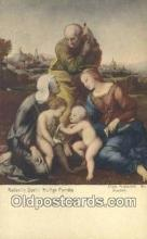 Raffaello Santi Heilige Familie Art Postcards Post Card