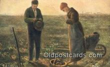Artist Millet Art Postcards Post Card