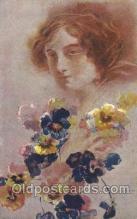 xrt124002 - Artist Signed M. Santino Postcard Postcards