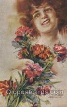 xrt124005 - Artist Signed M. Santino Postcard Postcards
