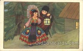 xrt137004 - Artist Signed D. Gobbi, Postcard Postcards