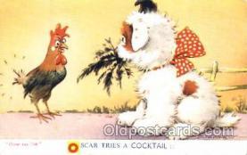 Artist Douglas Tempest, Postcard Post Card