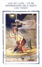 Series D-11 Artist Tempest, Douglas Postcards Post Card