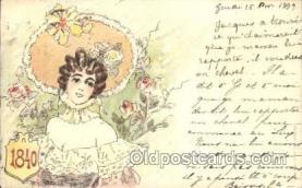 xrt152002 - Jack Abeille, Artist Signed Postcard Postcards