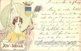 xrt152003 - Jack Abeille, Artist Signed Postcard Postcards