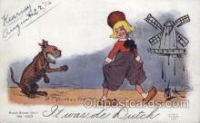 Artist R.F. Outcaust, Postcard Post Card