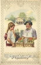 xrt155011 - Artist Signed Advertising Tradecard, Post Toasties, Norman Rockwell, Trade Card