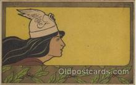 xrt160007 - Artist Signed Henri Meunier, Postcard Postcards