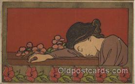 xrt160009 - Artist Signed Henri Meunier, Postcard Postcards
