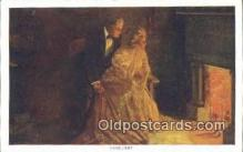 xrt171037 - Lovelight Artist Dewey, Alfred James Postcards Post Cards Old Vintage Antique