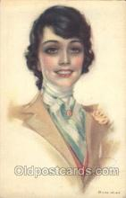 xrt187002 - Artist Signed Rolf Armstrong Postcard Postcards