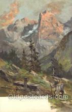 xrt188001 - Artist Signed Gussen Berger Postcard Postcards