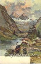 xrt188002 - Artist Signed Gussen Berger Postcard Postcards