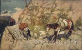 xrt191013 - Artist Signed John Innes, Postcard Postcards