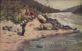 xrt191015 - Artist Signed John Innes, Postcard Postcards