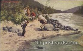 xrt191020 - Artist Signed John Innes, Postcard Postcards