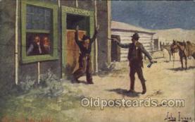 xrt191022 - Artist Signed John Innes, Postcard Postcards