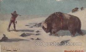 xrt191023 - Artist Signed John Innes, Postcard Postcards