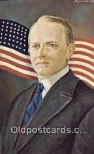 xrt192002 - Calvin Coolidge - President Artist Morris Katz Postcards Post Cards Old Vintage Antique
