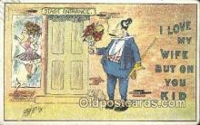 xrt206041 - Artist Carmichael Postcard Post Card Old Vintage Antique Series # 565