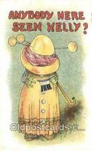 xrt206069 - Artist Carmichael Postcard Post Card Old Vintage Antique Series # 668