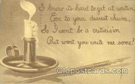 xrt209022 - Artist Signed E. Curtis Postcard Postcards