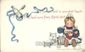 xrt209031 - Artist Signed E. Curtis Postcard Postcards