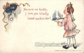 xrt209032 - Artist Signed E. Curtis Postcard Postcards