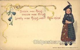 xrt209033 - Artist Signed E. Curtis Postcard Postcards