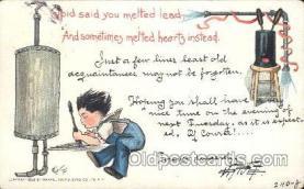 xrt209035 - Artist Signed E. Curtis Postcard Postcards