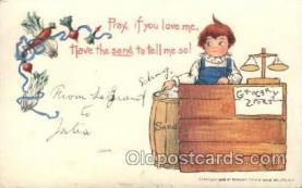 xrt209036 - Artist Signed E. Curtis Postcard Postcards