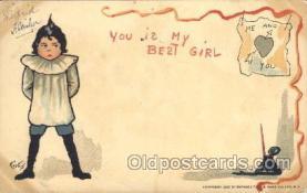 xrt209037 - Artist Signed E. Curtis Postcard Postcards