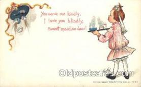 xrt209038 - Artist Signed E. Curtis Postcard Postcards