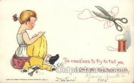 xrt209039 - Artist Signed E. Curtis Postcard Postcards