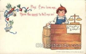 xrt209041 - Artist Signed E. Curtis Postcard Postcards