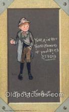 xrt209046 - Artist E Curtis Postcard Post Card Old Vintage Antique