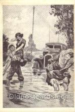 xrt213009 - Artist Signed George Conrad, Postcard Postcards