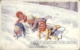 xrt228006 - Artist Signed K. Feiertag (AUS) Postcard Postcards