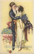 xrt229002 - Artist Signed Charles Ficher, Postcard Postcards