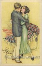 xrt229003 - Artist Signed Charles Ficher, Postcard Postcards