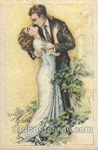 xrt229004 - Artist Signed Charles Ficher, Postcard Postcards